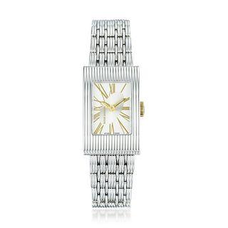 Boucheron Reflet Watch in Steel With 18K Gold Chain Bracelet