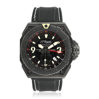 S.T. Dupont Service Without Fail RAID GMT in PVD Steel