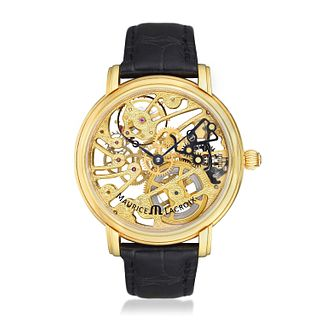 Maurice Lacroix Masterpiece Squelette in 18K Gold