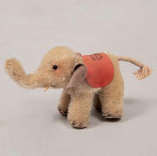 Toy Elephant. Germany. 20th century. Steiff. Small format. Plush toy.