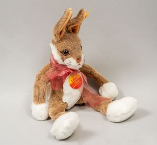 Toy Bunny LULAC. Germany. 20th century. Steiff. Plush toy. With brand label.