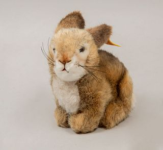 Toy Bunny. Germany. 20th century. Steiff. Plush toy. With brand label.