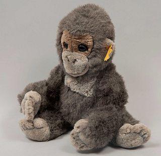 Toy Gorilla. Germany. 20th century. Steiff. Plush toy. Brand label.