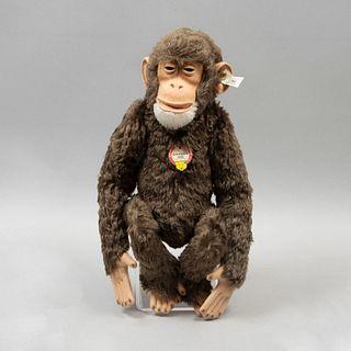 Toy Chimpanzee SCHIMPANS. Germany. 1993. Steiff. Plush toy. Replica of the original (1928)