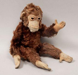 Toy Monkey. Germany. 20th century. Steiff. Plush toy.