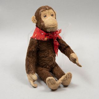 Toy Monkey. Germany. 20th century. Steiff. Small format. Plush toy.