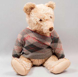 "Teddy Bear. Germany. 20th century. Steiff. Plush toy.   With articulated head and legs. 20.4"" (52 cm)"