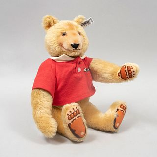 Toy Bear. Germany. 20th century. Steiff. Plush toy. Series number 144778. With brand button and label.