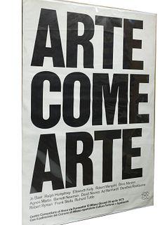 AA.VV.<br><br>Art as art (Ralph Humphrey - Jo Baer - Barnett Newman - Robert Ryman - Robert Mangold - Agnes Martin - Frank Stella - Richard Tuttle - D