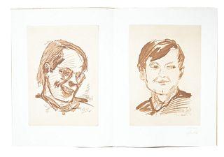 Baselitz, Georg<br><br>Radierung, Cologne, KKM Kölner Kunst Markt, 1971, 42.5x63 cm