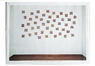 Boetti, Alighiero<br><br>Alighiero and Boetti, Rome, Pio Monti Gallery, 1988, 70x94.7 cm.
