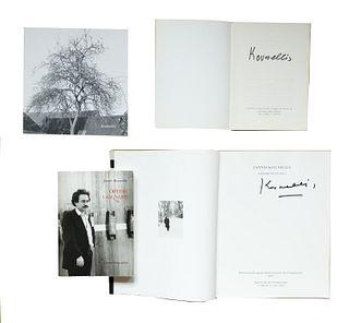 Kounellis, Jannis<br><br>Odyssée lagunaire. Écrits et entretiens 1966-1989Paris, Daniel Lelong, 1990, 21x15 cm., Paperback, jacket, pp. 229- [3].