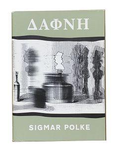 Polke, Sigmar<br><br>Daphne. 400 Xerographien in 24 Folgen. Mit einem Essay von Reiner SpeckKöln, Snoeck Verlagsgesellschaft, 2004, 42.5x30 cm, editor
