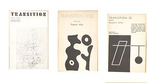Transition. A Quarterly Review<br><br>n. 21 The Hague, Eugene Jolas - The Servire Press, March 1932, 23x15.5 cm., Paperback, pp. 336,