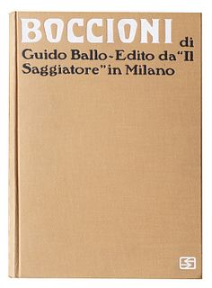 Boccioni, Umberto<br><br>Boccioni. Life and work