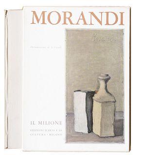 Morandi, Giorgio<br><br>Giorgio Morandi painter. Introduction by Lamberto Vitali