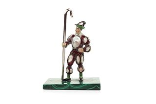 Viennese Pearl Set Figure of a Jester