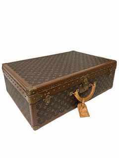 Classic Vintage Louis Vuitton Large Hard Case Luggage
