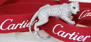 Cartier Prowling Panther Ring Retail $75,000