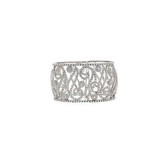 High Fashion 8.50ct Diamond Cuff Bracelet