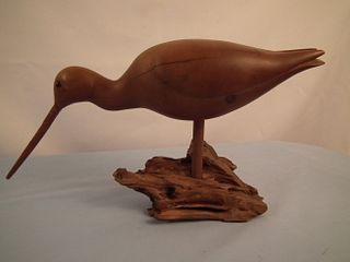 OLD WILLET CARVED BIRD