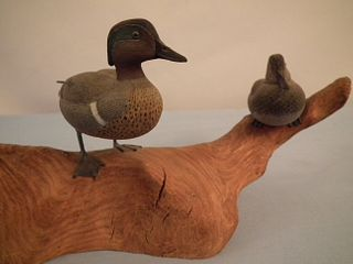 CHARLES BERRY DUCK CARVINGS