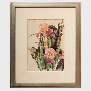 Charles Demuth (1883-1935): Flowers: Irises
