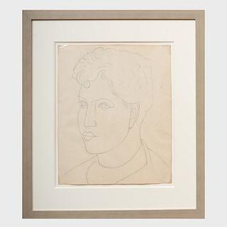 Stuart Davis (1894-1964): Portrait of Bessie Chosak