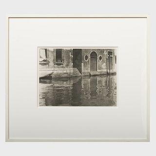 Alfred Stieglitz (1864-1946): Reflections, Venice
