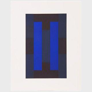 Ad Reinhardt (1913-1967): 10 Screenprints: Three Plates