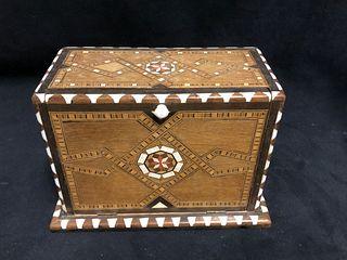Inlaid Wooden cigarette box