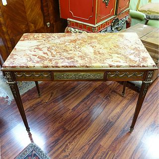 Antique French Louis XVI Style Center Table