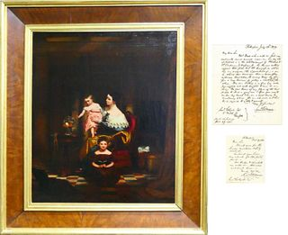 "SAMUEL F B MORSE (USA 1791-1872) ""GOLDFISH BOWL"""