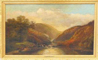 JOHN WILLIAM CASILEAR (USA 1811-1893) HUDSON OIL