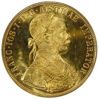Austria: RESTRIKE 1915 Gold Ducat