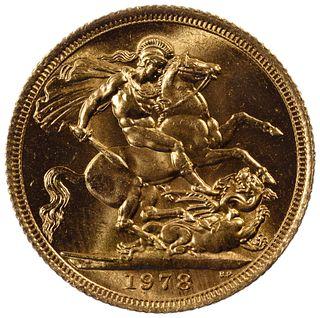 England: 1978 Gold Sovereign