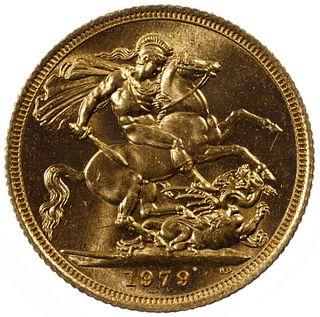 England: 1979 Gold Sovereign