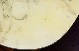 Bendixen Designs Style Marble Top Teak Coffee Table