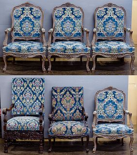 Upholstered Arm Chair Assortment