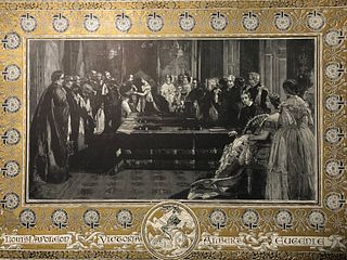 The Graphic/ Majesty Queen Investing  Emp. Napoleon 111