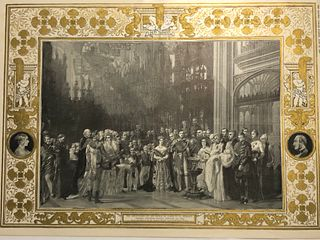 1841 Giclee /The Graphic/Christening of Princess Royal