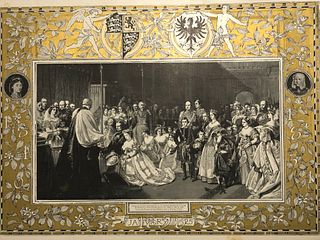 1858 Giclee/Graphic/ Marriage Prince Frederick William