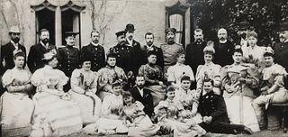 1894 Litho Prince Henry Battenberg/ Forbidden Picture