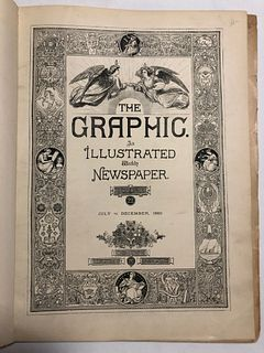The Graphic, 6 issues, bound, 1899