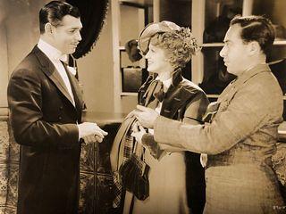 Clark Gable Jack Holt 8 x 10 movie still