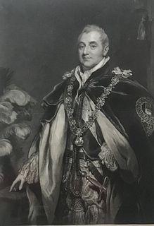 1828 Portr. H Charles Duke Beaufort/Thomas P.Mezzotint