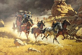 Frank McCarthy Limited Edition Lithograph/COA