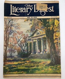 The Literary Digest 2099, July 12, 1930