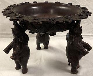 Amazing Antique Bronze Bowl