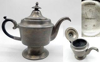Pewter Teapot by George Richardson